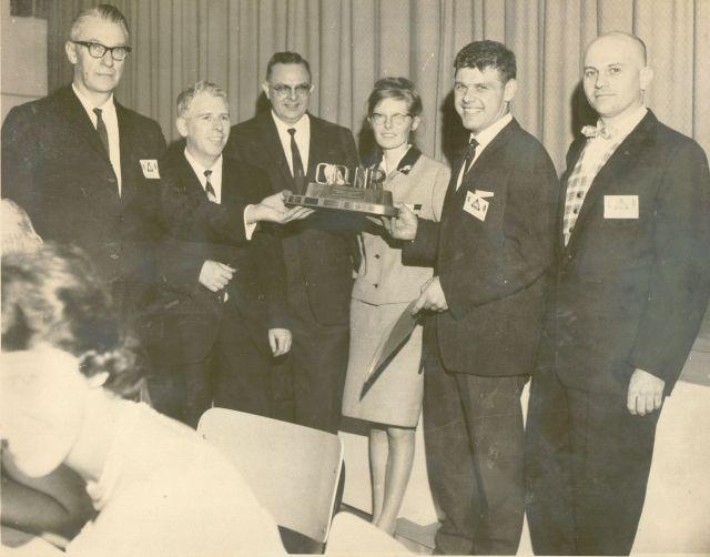 First CQ-NR Trophy presentation
