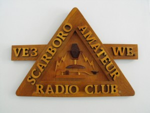 SARC wood sign