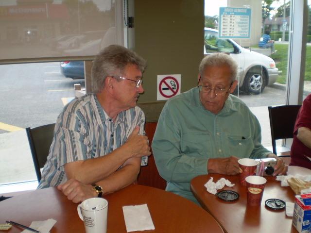 Coffee night, July 2010