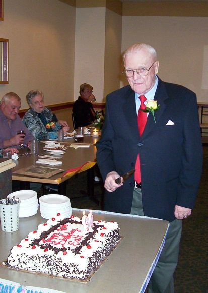 Salt's 90th birthday photo by Ken